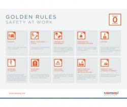 Social Responsibility - Safety golden rules illustration