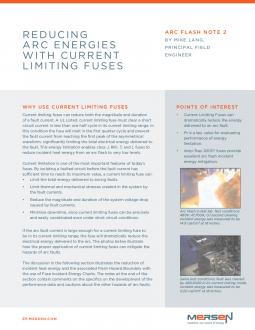 Cover of AFN2 - Reducing Arc Energies with Current Limiting Fuses - Tech Topic